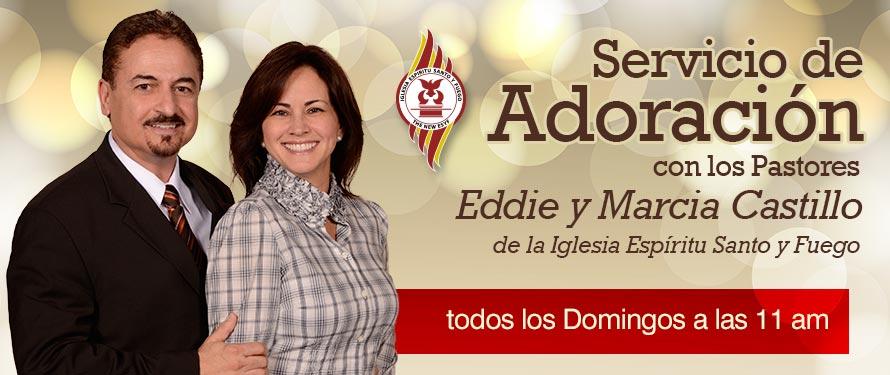 Servicio de Adoración con la Pastora Marcia Castillo