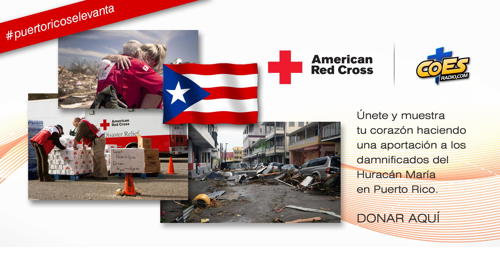 Huracán María - American Red Cross